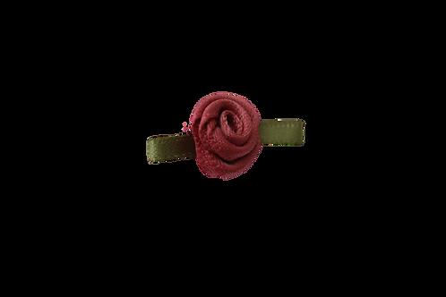 Dusky Rose 15mm Satin Rose