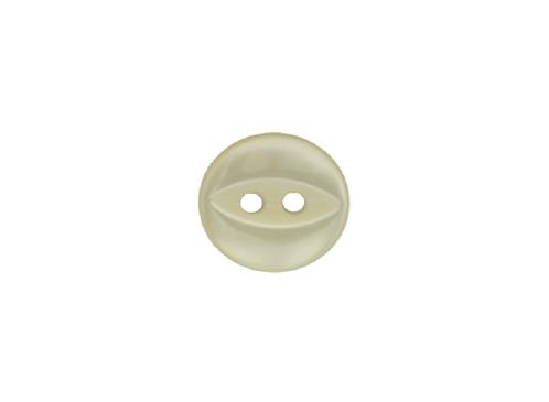 11mm Cream Fish Eye Button