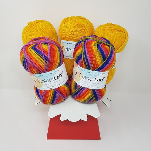 Technicolour Yarn Bouquet