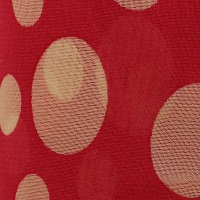 Red Heart Sassy Fabric - Pink & White Polka Dot
