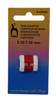 Pony Row Counter Large 5.5-7mm