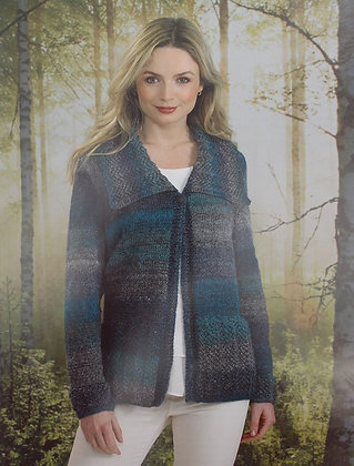 JB494 Jacket in James C Brett Landscape DK