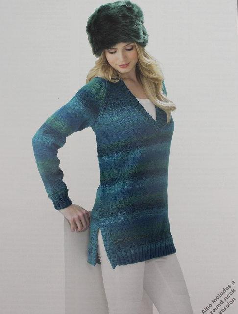 JB292 Sweaters in James C Brett Marble DK