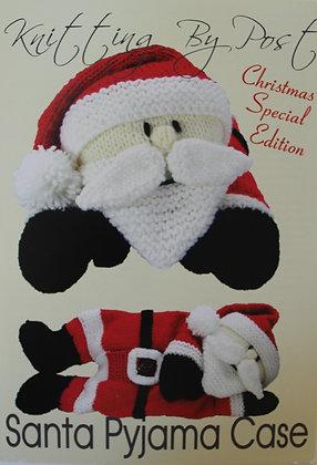Santa Pyjama Case Knitting Pattern