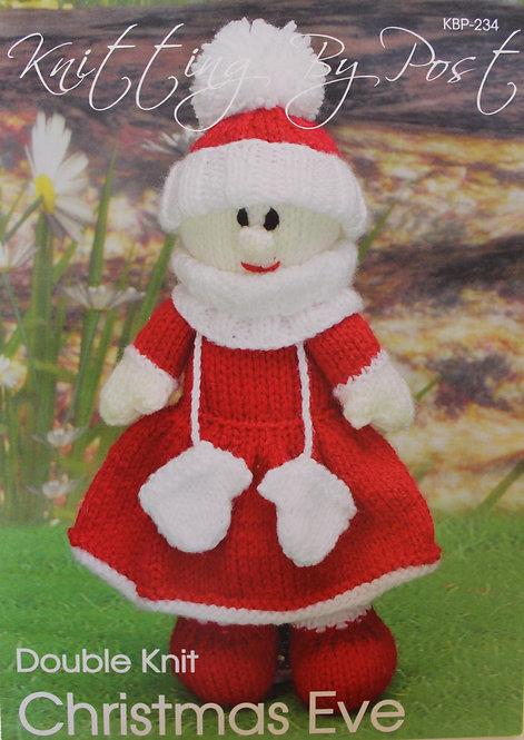 Christmas Eve Knitting By Post Pattern KBP-234