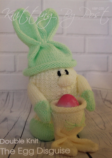 The Egg Disguise Knitting By Post Pattern KBP-235