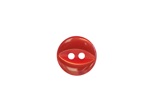 11mm Red Fish Eye Button