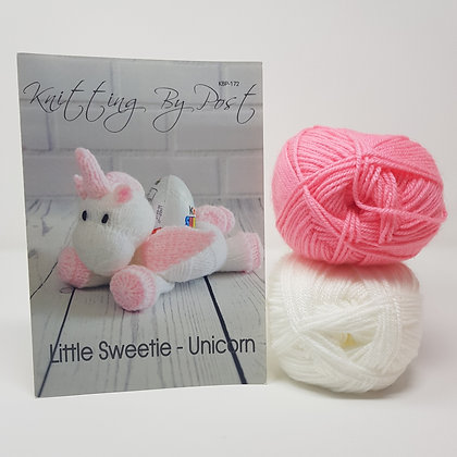 Little Sweetie Unicorn Knitting Kit