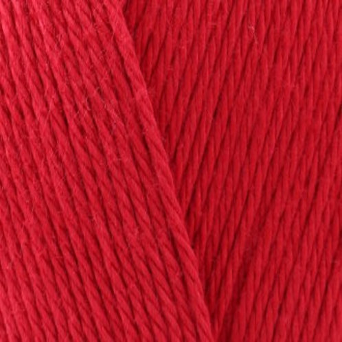 James C Brett It's 100% Pure Cotton DK Red IC12