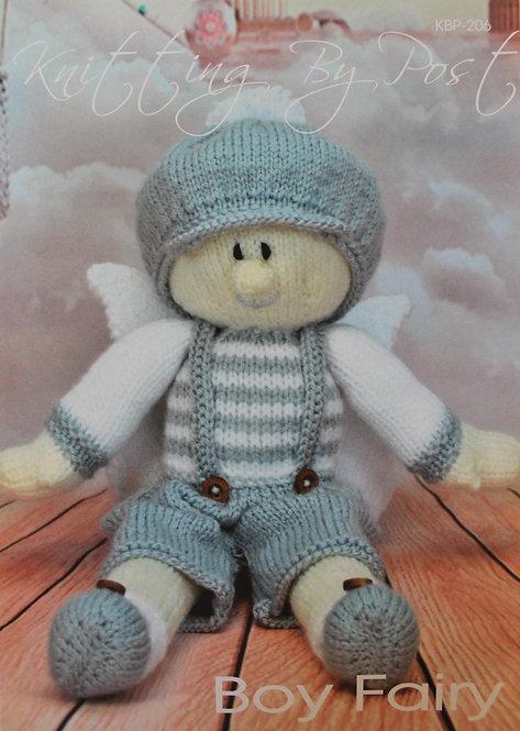 Boy Fairy Knitting By Post Pattern KBP-2