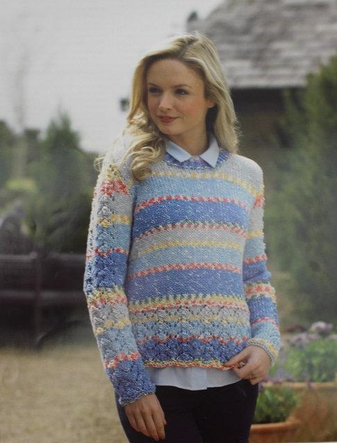 JB450 Sweater in James C Brett Harmony Chunky