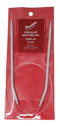 Essentials 75/80cm Circular Knitting Needle 4mm