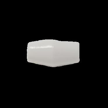 19mm White Toggle Button