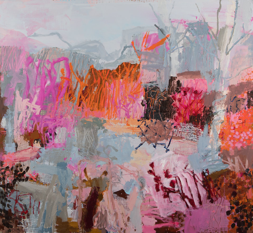 The Wetlands, 2020_168cm x 183cm_oil on Belgian linen