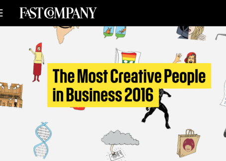 Fast Company's 100 Most Creative People in Business Featuring First Access