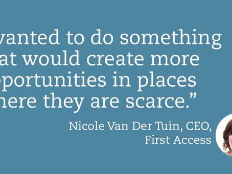 ACCION Interview: Nicole Van Der Tuin of First Access