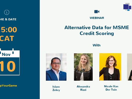 Join First Access and Digital Frontiers Institute for a Webinar on Alternative Data & Scoring Nov 10