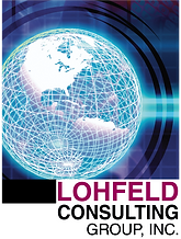Lohfeld Consulting Group Globe logo 11-7