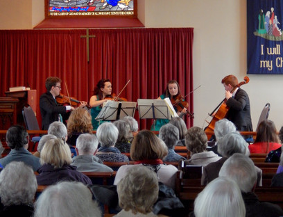 Quartet raise £700 for the North Staffordshire Heart Committee