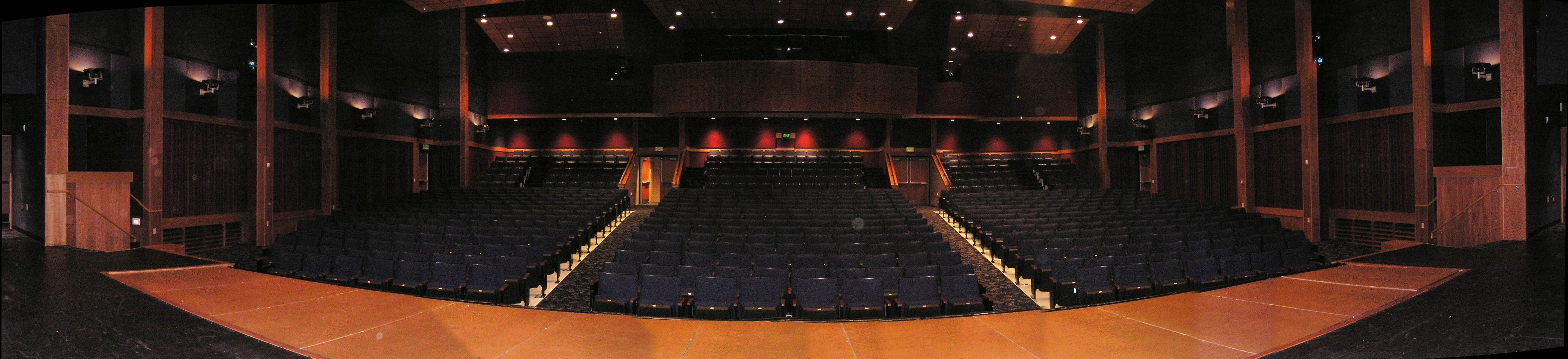 Panaroma From Stage