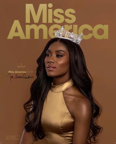 Miss America Program book
