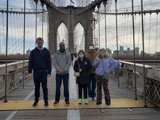 Brooklyn Bridge & Grimaldi's Pizza Fun