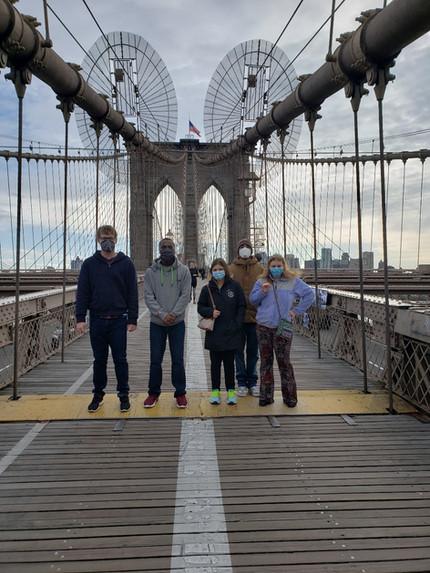 Brooklyn Bridge & Grimaldi's Pizza Fun