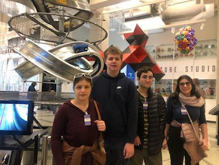 Teenz and Flexibility: Museum of Math