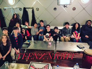 First TEENZ NIGHT OUT: Karaoke