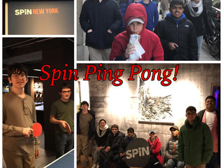 New Friends at SPiN Ping Pong