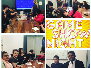 First Annual Game Show Night