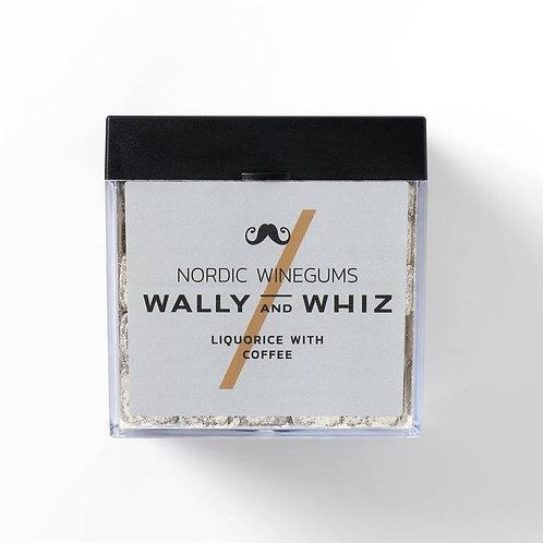 Wally and Whiz Vingummi - Lakrids med Kaffe