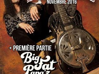 BIG FAT PAPA'Z on tour with Eric Sardinas
