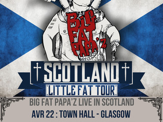 BIG FAT PAPA'Z Live in Scotland!