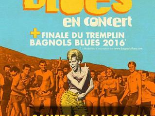 Finale du tremplin Bagnols Blues Festival 2016