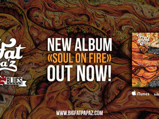 """New Album """"Soul On Fire"""" OUT NOW !!"""