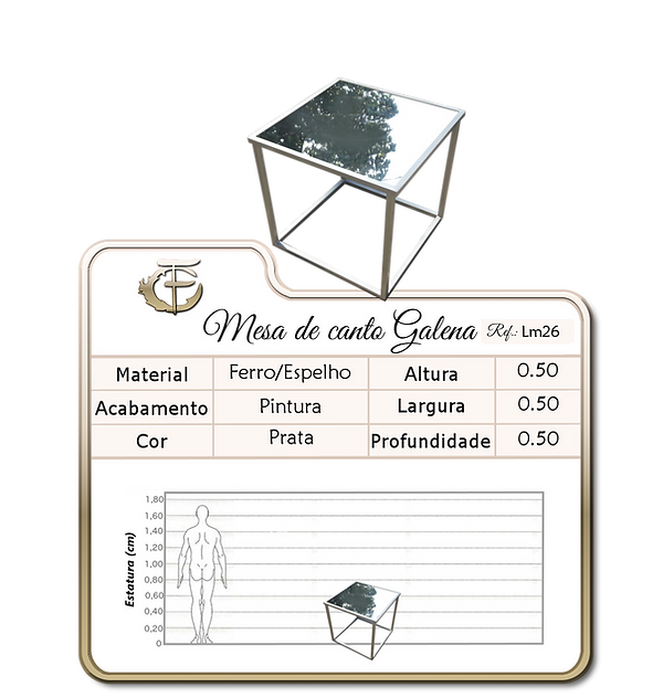 Mesa de canto Galena