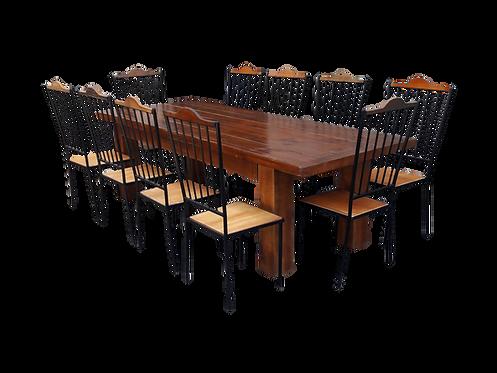 Conjunto de jantar Wood