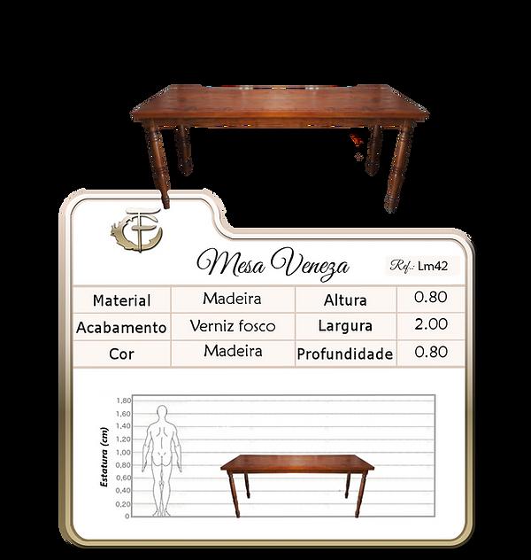 mesa Veneza