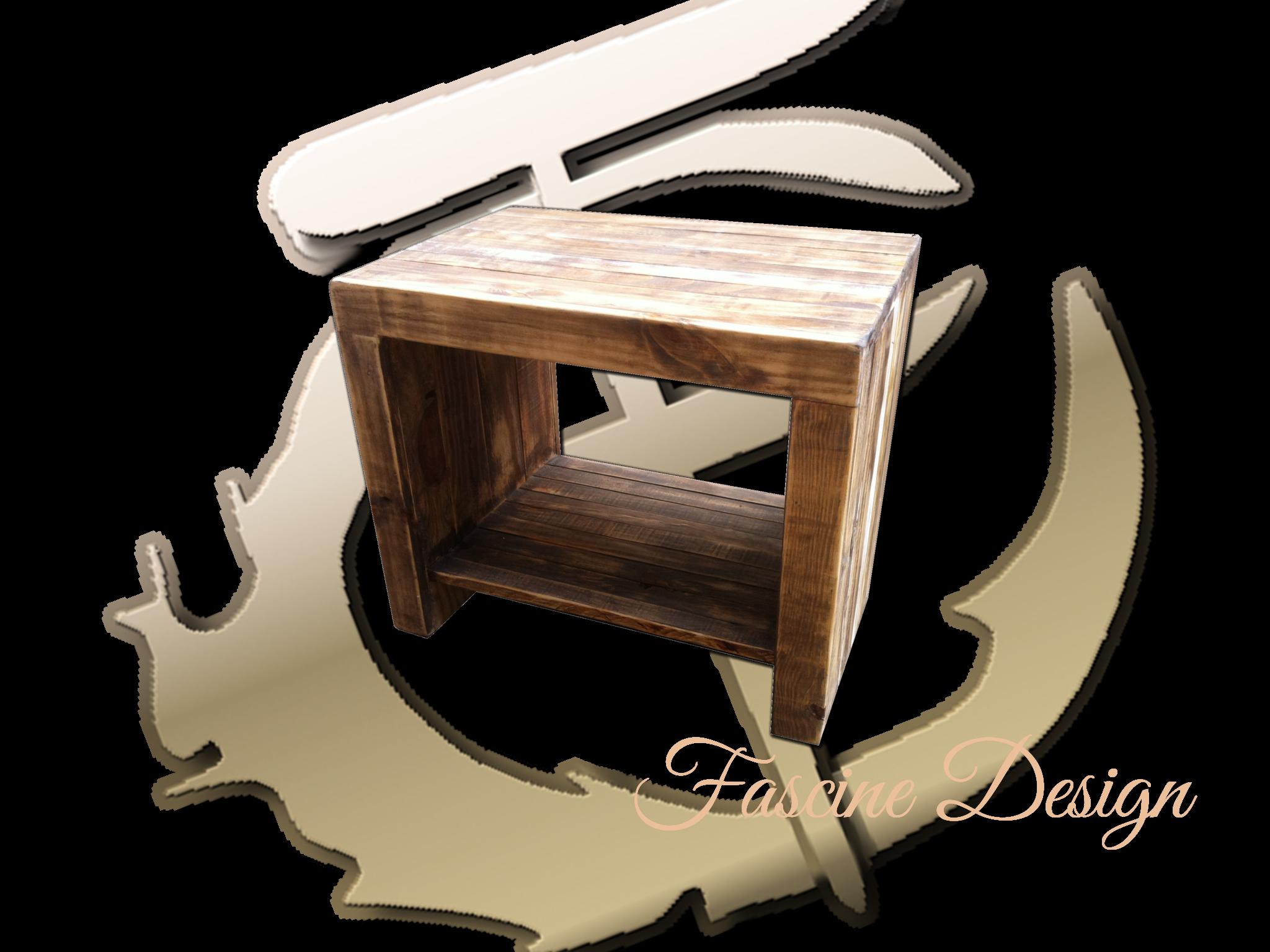 Mesa de canto Rústica
