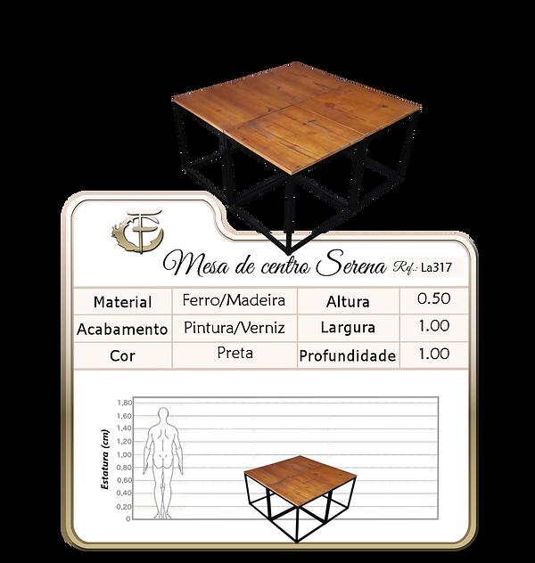 Mesa de centro Serena