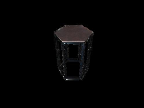 Mesa de apoio Hexagonal