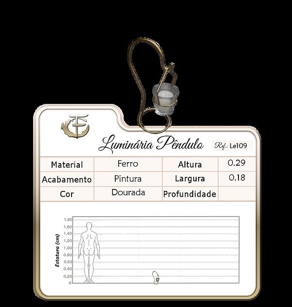 Luminária Pendulo