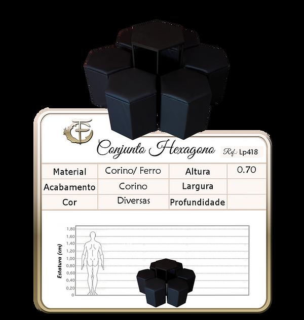 Conjunto Hexagono