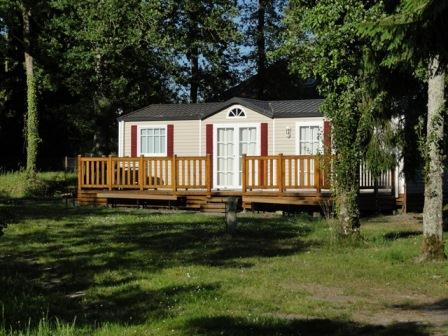 View on a mobile home 2 bedrooms