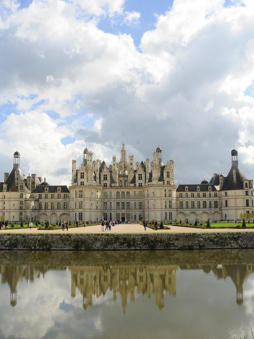 Château façade nord © Sébastien Rio - Ch