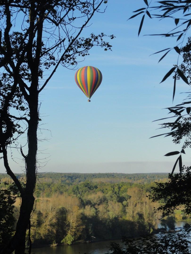 montgolfière Chaumont sur Loire
