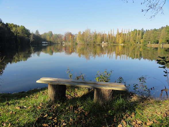 vue_étang_petit_banc_camping_grandesolog