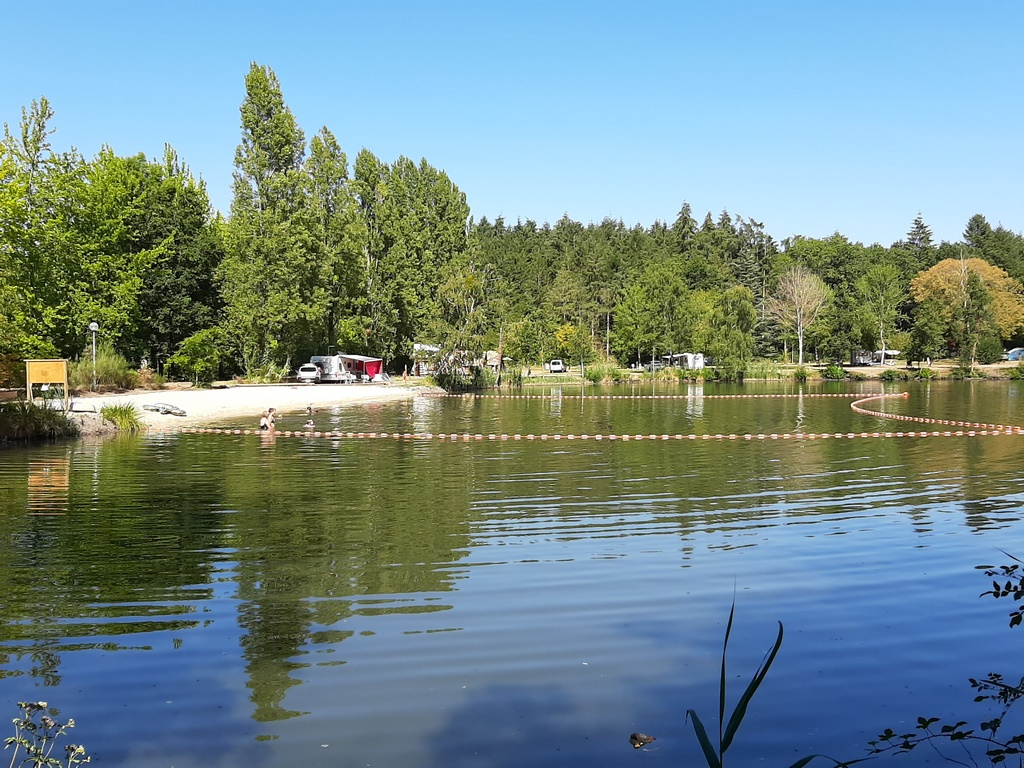 New in 2020 : a swimming area in camping La Grande Sologne