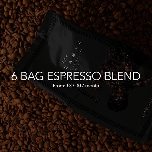 6 Bag Espresso Blend
